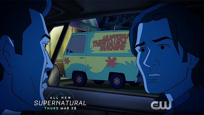 ScoobyNatural: First teaser for Supernatural and Scooby Doo crossover arrives!