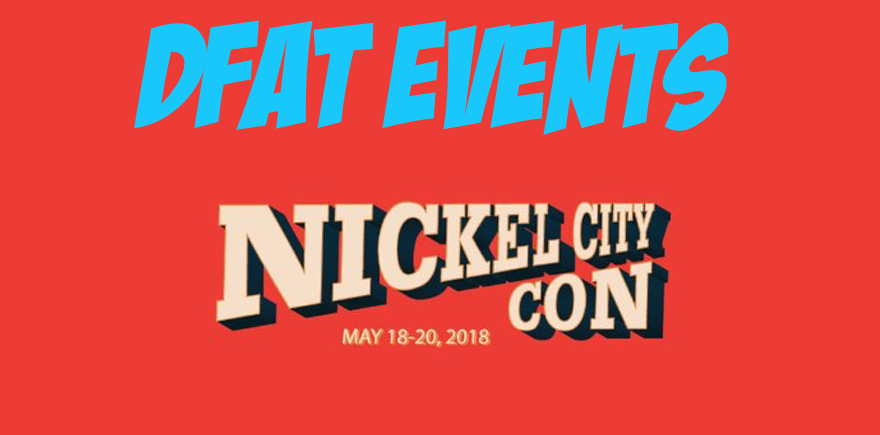 DFAT Events: Nickel City Comic Con 2018