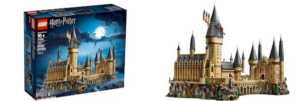 First look at the 6000+ Piece LEGO Harry Potter Hogwarts Castle