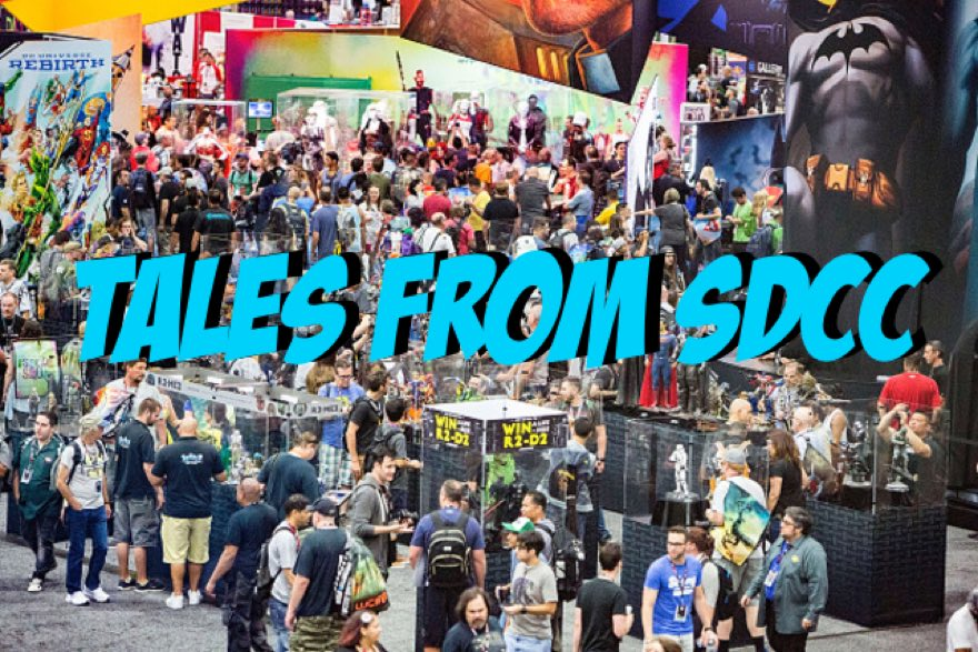 Towelite Talk presents Tales from San Diego Comic Con Pt. 1 & 2