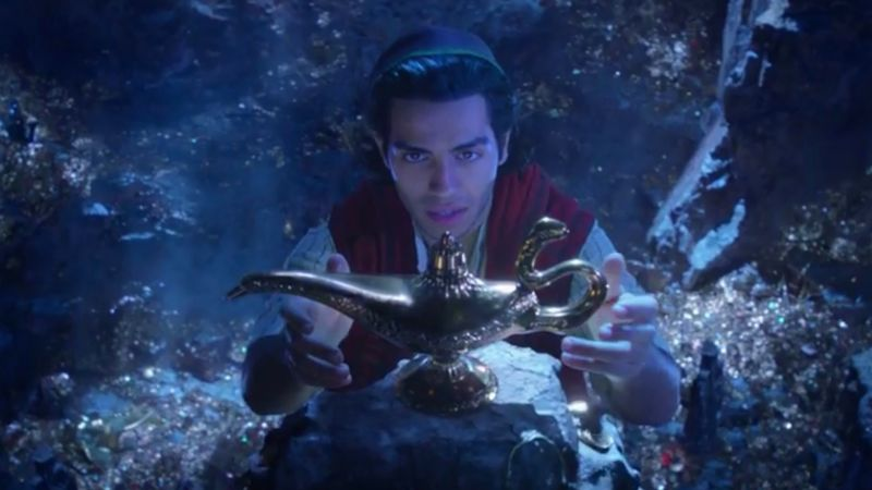 First trailer for Disney's Live Action Aladdin movie starring Will Smith!