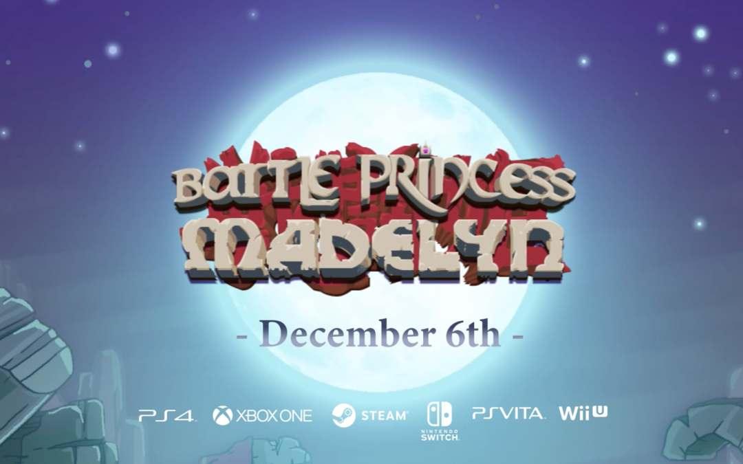 Battle Princess Madelyn is making her console debut December 6th!