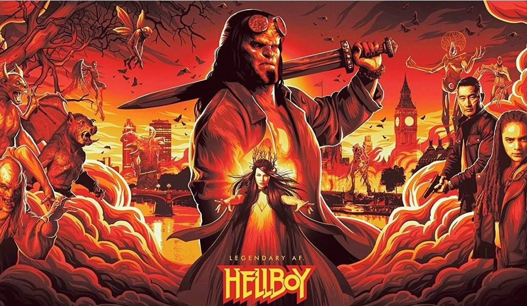 Hellboy reboot trailer starring Stranger Things David Harbour has arrived!