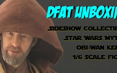 DFAT Unboxing: Sideshow Collectibles Star Wars Mythos Obi-Wan Kenobi 1/6 scale figure