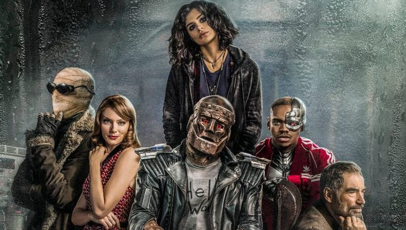 Doom Patrol teaser features our first look at Mr. Nobody … is it Friday the 15th yet?!