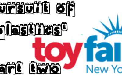 Towelite Talk Episode #122.1 – Pursuit of Plastics' Toy Fair 2019 Part Two