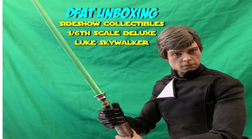 DFAT Unboxing: Sideshow Collectibles 1/6th Scale Deluxe Luke Skywalker