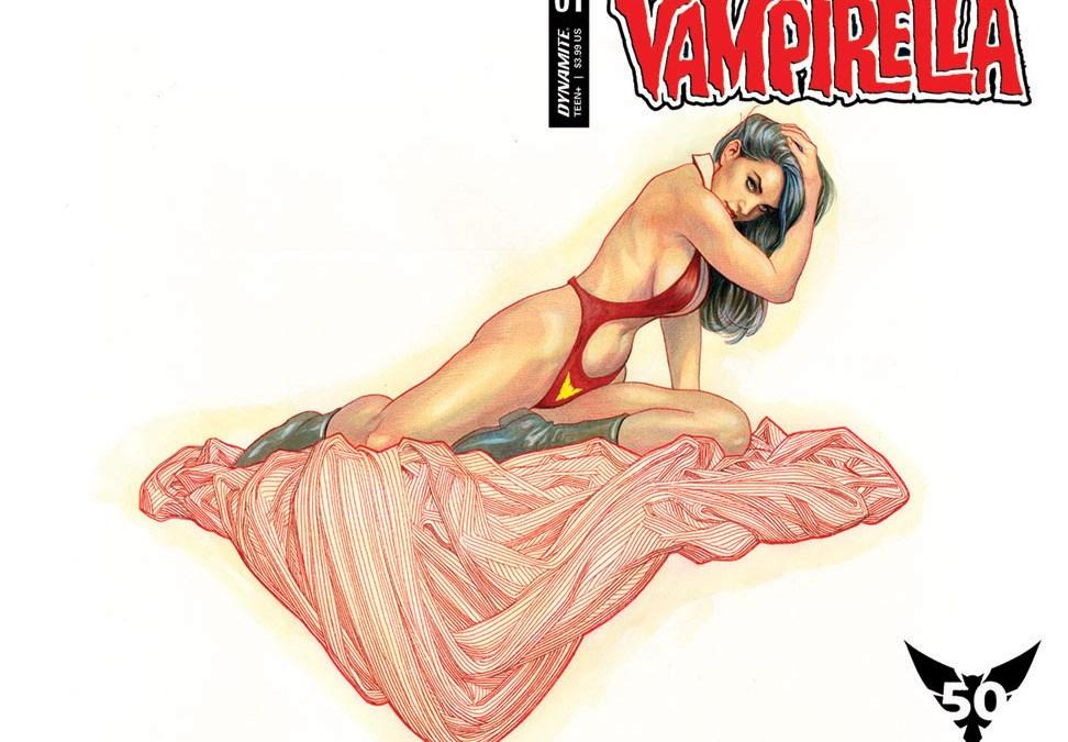 Dynamite Celebrates Vampirella's 50th Anniversary!