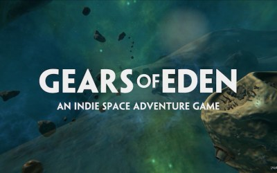 Filmmaker tackles space robots in new indie game, Gears of Eden