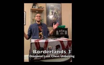 Borderlands 3 Diamond Loot Chest Super Deluxe Unboxing