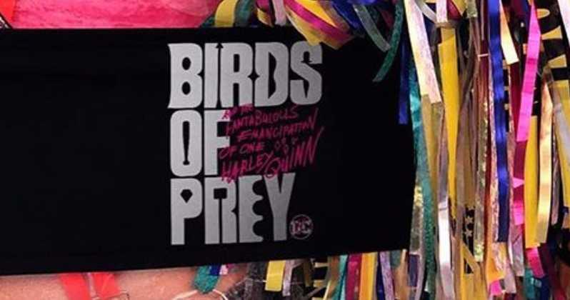Birds of Prey teaser flaps its way online
