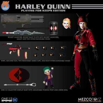 Mezco-PX-Exclusive-One12-Collective-DC-Harley-Quinn-Promo-01