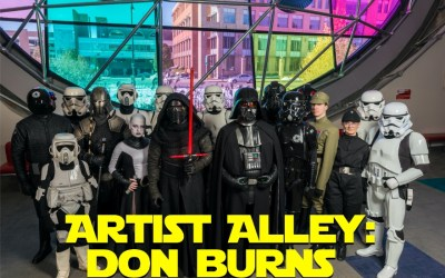 Artist Alley: Don Burns of the 501st Legion – Vader's Fist