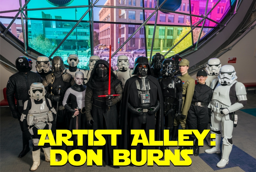Artist Alley: Don Burns of the 501st Legion – Vader's Fist