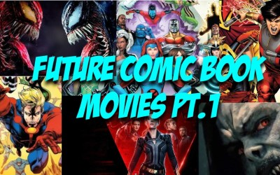 Towelite Talk Episode 162 – Future Comic Films Pt. 1