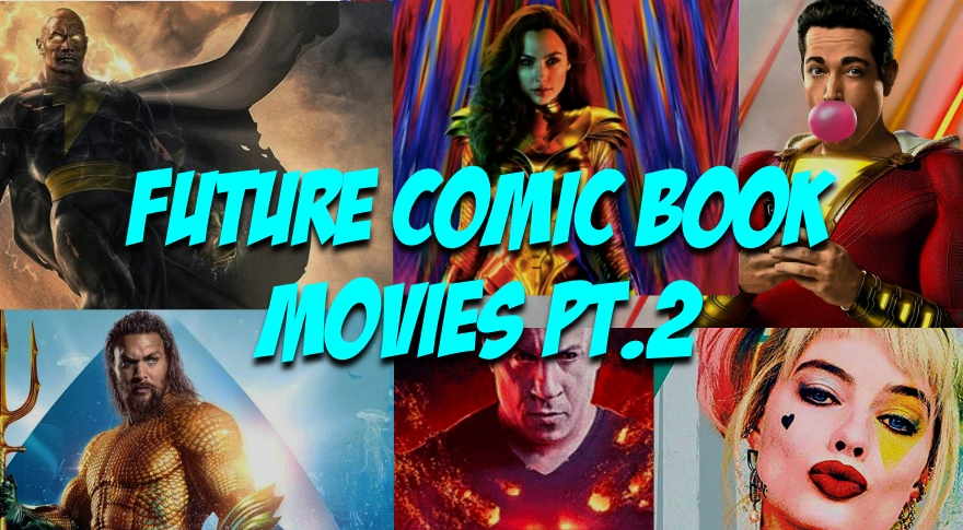 Towelite Talk Episode 16 – Future Comic Films Pt. 2