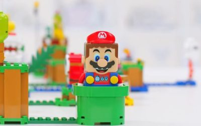 Get a closer look at LEGO Super Mario! with Lead Designer, Jonathan Bennink!