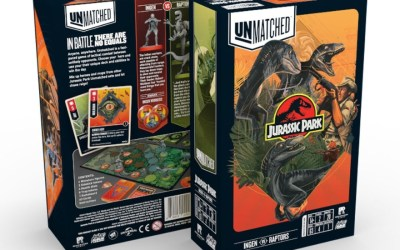 Mondo & Restoration Games UNMATCHED: JURASSIC PARK Available Now