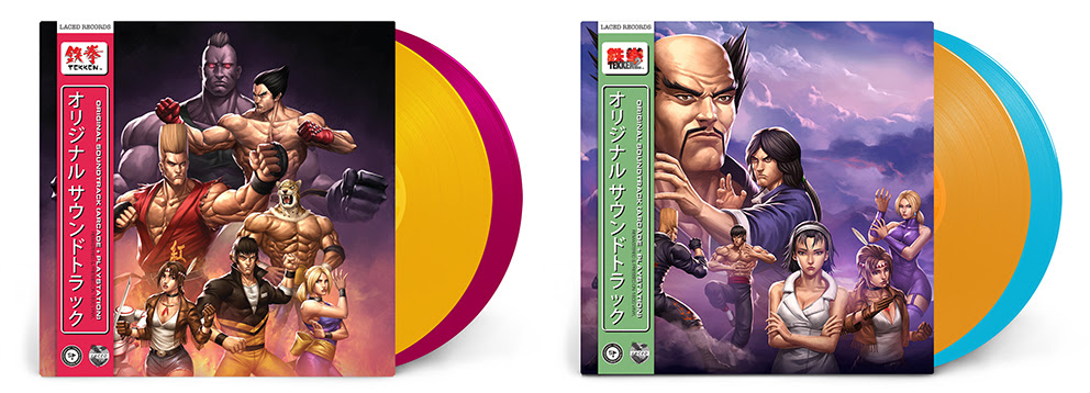 TEKKEN™️ series soundtracks smash their way onto vinyl