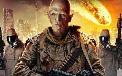 Michael Berryman and Vernon Wells in the official trailer for IMPACT EVENT!