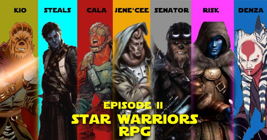 The Star Warriors Podcast Episode VII – The Temple of Shi'ran Dah Pt. 2
