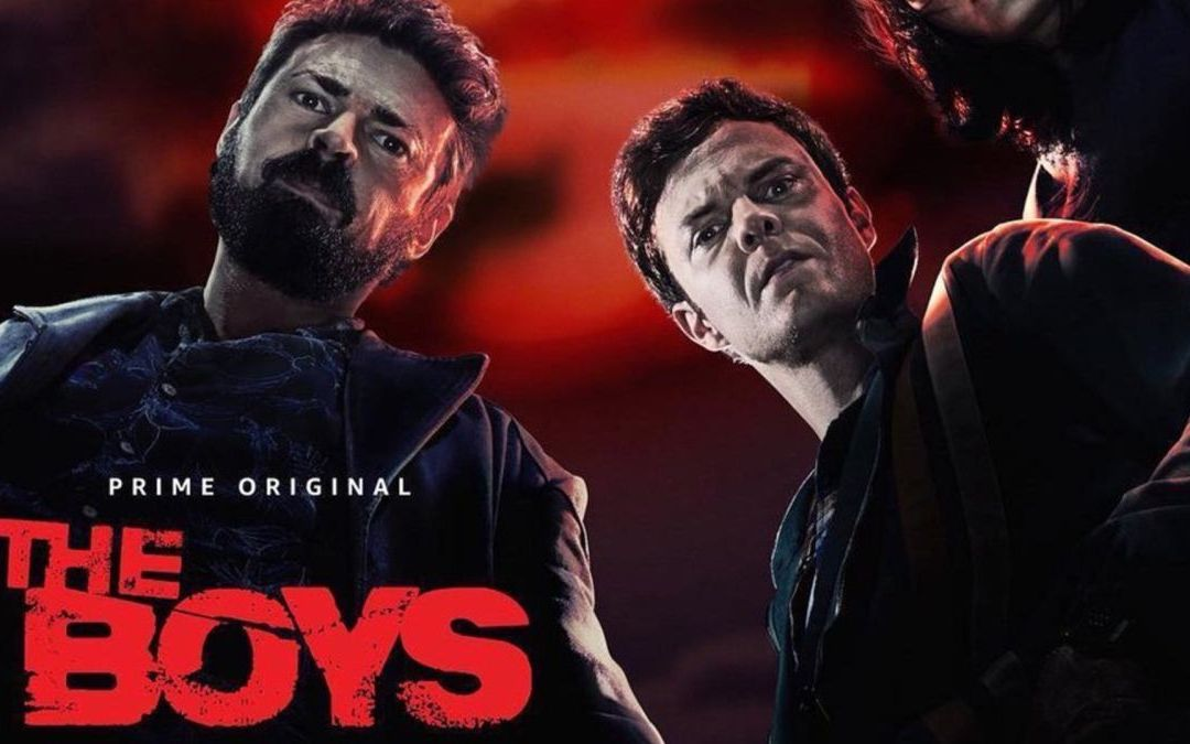 Streaming & Comics Sensation THE BOYS Comes To Novels!