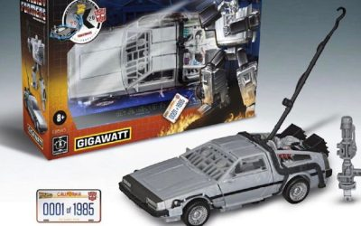 GREAT SCOTT! TRANSFORMERS & BACK TO THE FUTURE ARE CROSSING OVER!