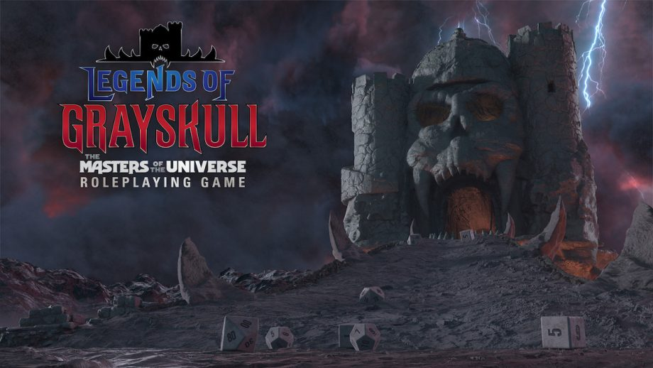 Become a Master of the Universe in the Legends of Grayskull RPG!
