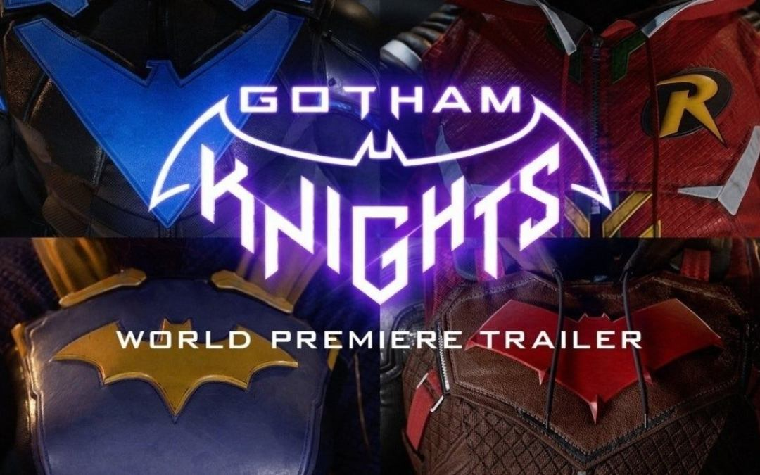 Gotham Knights video game revealed by DC & WB Games Montreal!