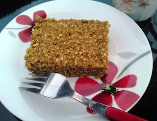 Sweet squash & creamy cashew butter flapjacks Breakfast Lunch snack vegan