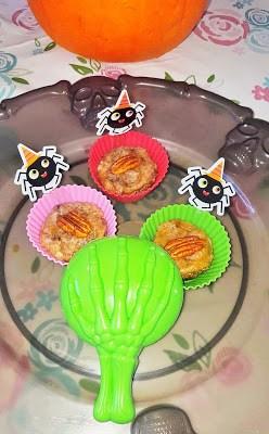 Mini spiced pumpkin pecan pies (no bake) Desserts Grainfree snack vegan
