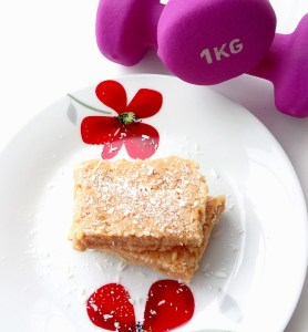 Lemon coconut & baobab gut healing protein bars Desserts energy balls Grainfree snack