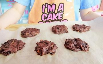 3 ingredient brookies (brownie cookies) Desserts Grainfree snack vegan