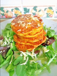 Savoury squash/pumpkin pancakes Dinner Lunch