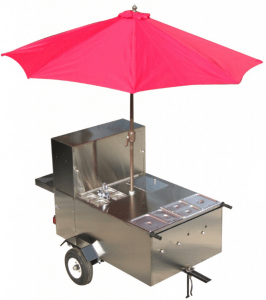 my new hot dog cart