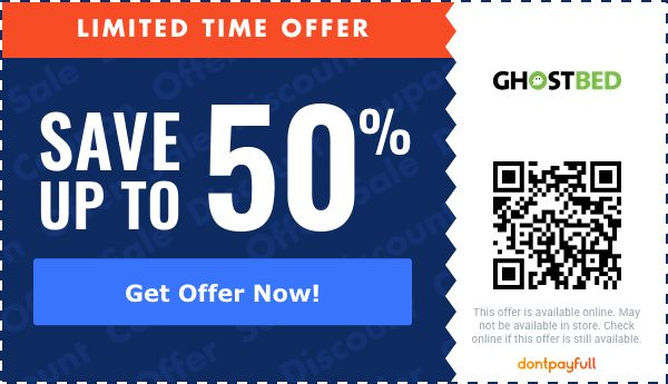 40 off ghostbed coupon promo code