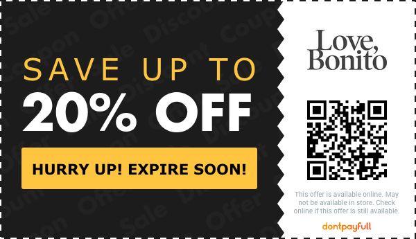 10 off love bonito coupon promo code
