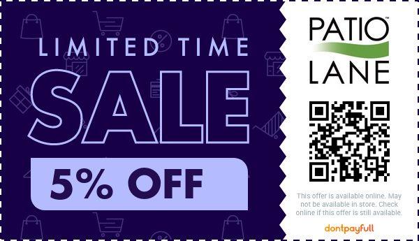 10 off patio lane coupon promo code