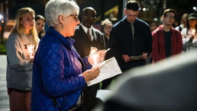 University holds fourth annual vigil to honor lost lives in Temple community