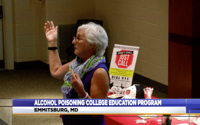 Mount St. Mary's alumna returns to warn about alcohol poisoning
