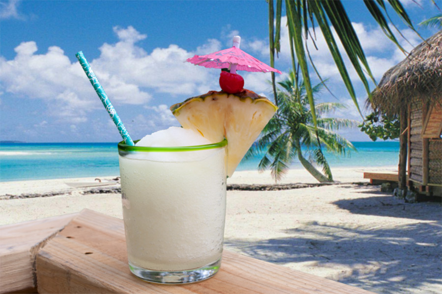 Jamaican Me Crazy Cocktail - If a tasty tropical drink is what you are craving, look no further! This cocktail will transfer you to a tropical island instantly!