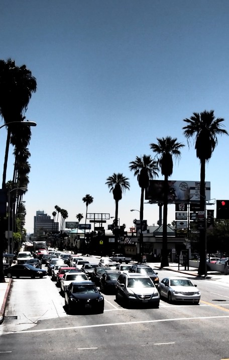 LOS ANGELES Streetscapes in the Summer