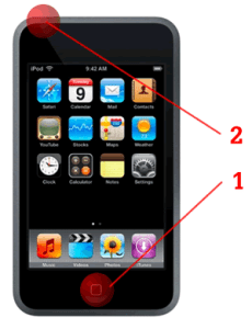 iPod Touch Screen-grab
