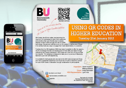 Poster: Using QR Codes in Higher Education