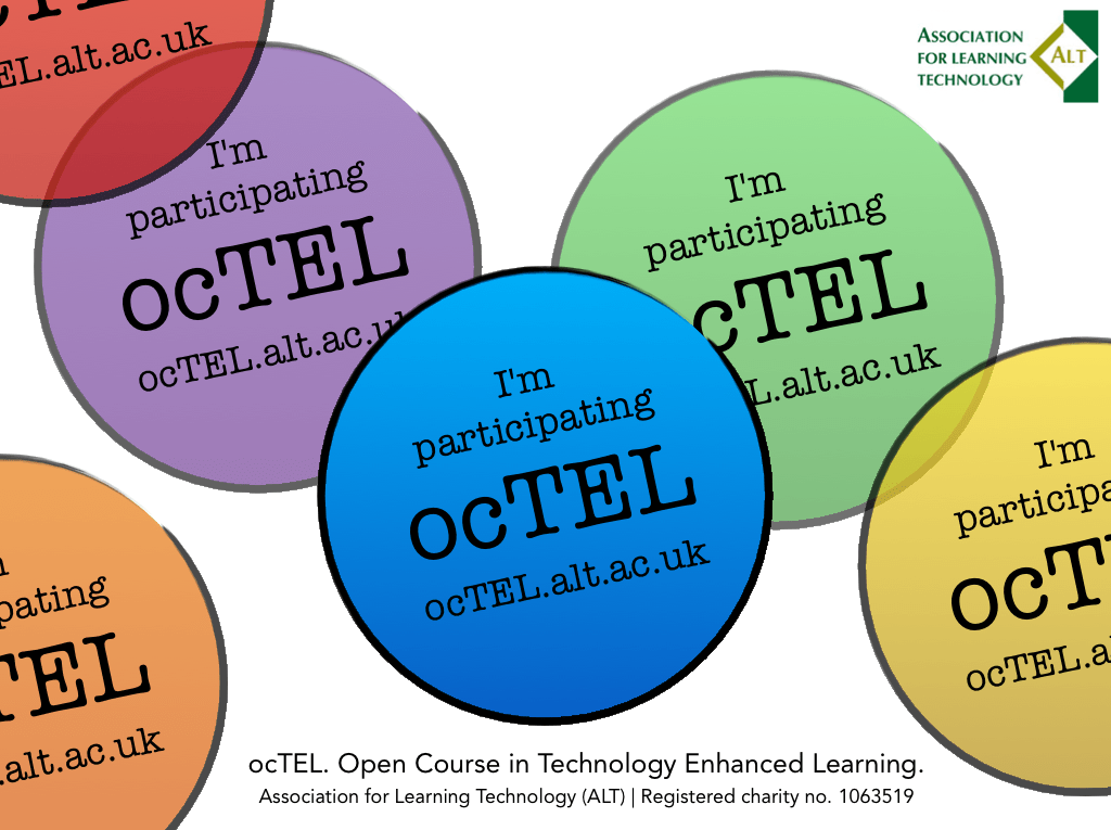 """Open Course in Technology Enhanced Learning"" #ocTEL"