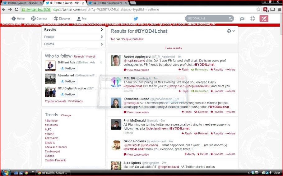 BYOD4Lchat - communication