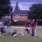 Barriers really do make a difference at grassroots football. A Visual Deterent.