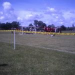 The DXTL, Barriers used by Lostock Hall Juniors a great visual deterrent