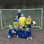 Youngsters at a the Scotland Road JFL supporting the reFspect awareness weekend March 13th-16TH