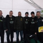 Mark Halsey with some of the DXTL volunteers during the reFspect awareness event